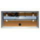 Pokrywa aluminiowa Platino do świetlówek T8 2x18W