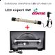 Oprawa LED Expert 6W Diversa - do pokrywy o dł. 40cm