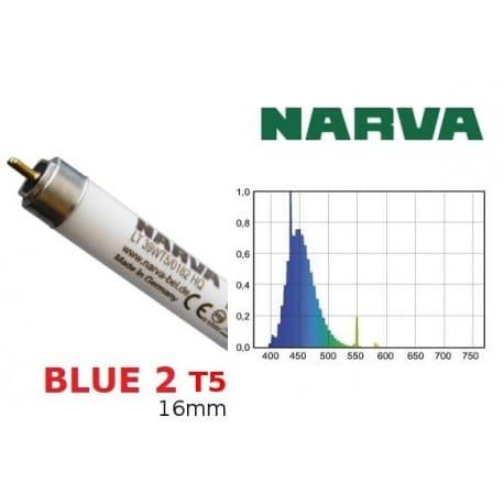 Świetlówka T5 NARVA Blue2 39W barwa morska-niebieska