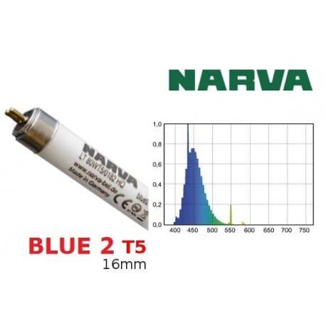 Świetlówka T5 NARVA Blue2 80W barwa morska-niebieska