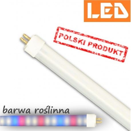 Świetlówka AquaPlant LED T5 PET 13W roślinna, diody white-red-blue