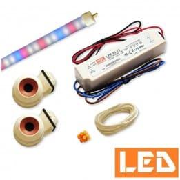 Zestaw LED T5 19W roślinna, do pokrywy akwarium 120cm / 100cm