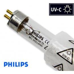 Promiennik UV-C Świetlówka UVC T5 PHILIPS TUV 6W G6 trzonek G5, średnica 16mm - od AQUA-LIGHT