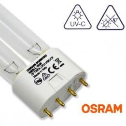 Świetlówka / Promiennik UV-C Osram HNS Puritec 18W 2G11