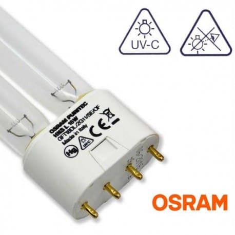 Promiennik UV-C Świetlówka UVC OSRAM Puritec HNS 18W trzonek 2G11- od AQUA-LIGHT