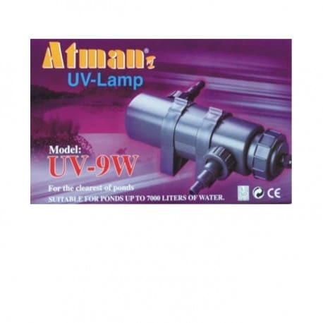 Lampa UV-9W Atman