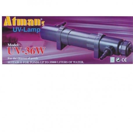 Lampa UV-36W Atman