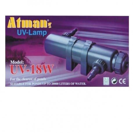 Lampa UV-18W Atman