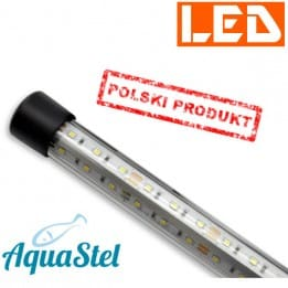 Lampka Power GLASS LED 13W 6500K AquaStel - do pokrywy 60cm
