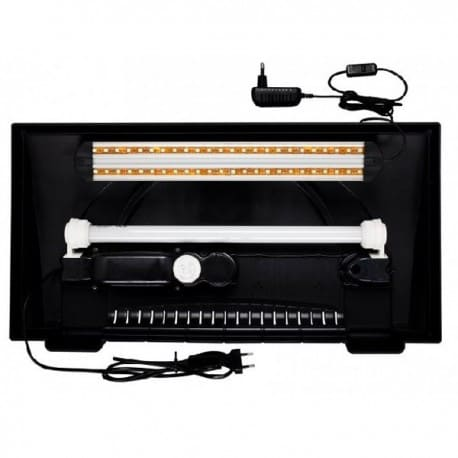 Oprawa LED EXTRA 2x5,7W Diversa, do pokryw 50cm - od AQUA-LIGHT