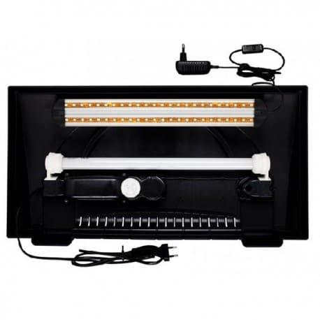 Oprawa LED EXTRA 2x7,2W Diversa, do pokryw 60cm - od AQUA-LIGHT