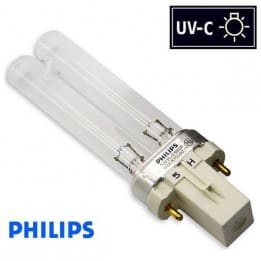 Promiennik UV-C Świetlówka UVC PHILIPS TUV PL-S 5W trzonek G23 - od AQUA-LIGHT