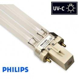 Promiennik UV-C Świetlówka UVC PHILIPS TUV PL-S 9W trzonek G23 - od AQUA-LIGHT