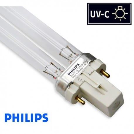 Promiennik UV-C Świetlówka UVC PHILIPS TUV PL-S 11W trzonek G23 - od AQUA-LIGHT
