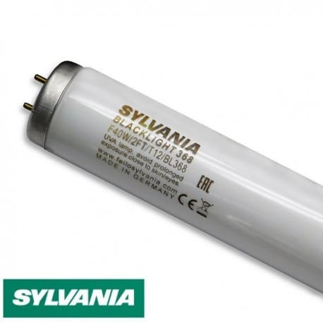 Świetlówka UV Sylvania T12 40W/BL368 24 BLACKLIGHT UVA - od AQUA-LIGHT