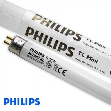 Świetlówka UV Philips T5 ACTINIC BL TL Mini 15W/10 UVA - od AQUA-LIGHT