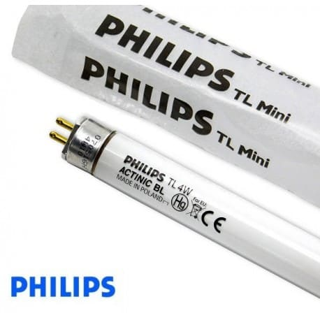 Świetlówka UV Philips T5 ACTINIC BL TL 4W/10 UVA - od AQUA-LIGHT