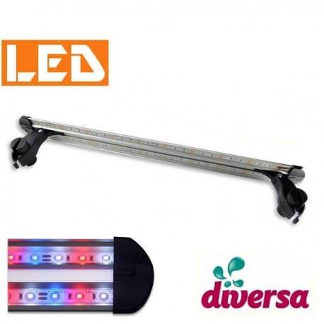 Lampka LED Intenso 15,8W KOLOR Diversa - montaż na akwarium ok. 60cm - sklep AQUA-LIGHT