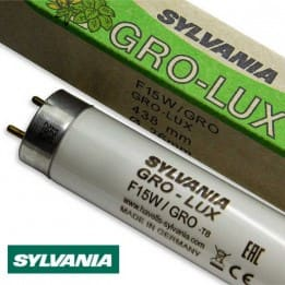 Świetlówka akwarystyczna roślinna T8 Gro-Lux 15W firmy Sylvania | AQUA-LIGHT