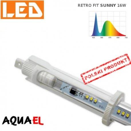 Moduł LED RETRO FIT SUNNY - moc 16W 6500K, firmy AQUAEL | sklep AQUA-LIGHT.pl