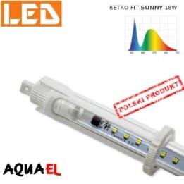 Moduł LED RETRO FIT SUNNY - moc 18W 6500K, firmy AQUAEL | sklep AQUA-LIGHT.pl