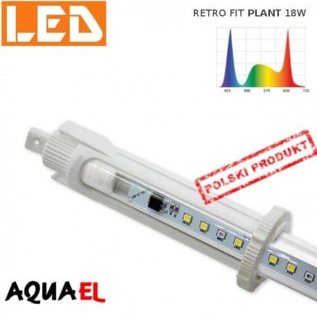 Moduł LED RETRO FIT PLANT - moc 18W 8000K, firmy AQUAEL | sklep AQUA-LIGHT.pl