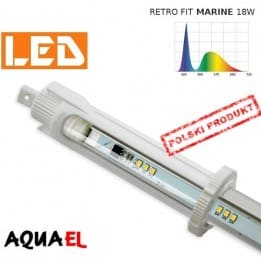 Moduł LED RETRO FIT MARINE - moc 18W 10000K, firmy AQUAEL | sklep AQUA-LIGHT.pl