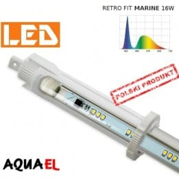 Moduł LED RETRO FIT MARINE - moc 16W 10000K, firmy AQUAEL | sklep AQUA-LIGHT.pl
