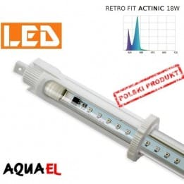 Moduł LED RETRO FIT ACTINIC - moc 18W 20000K, firmy AQUAEL | sklep AQUA-LIGHT.pl