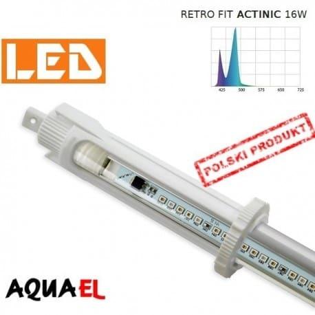 Moduł LED RETRO FIT ACTINIC - moc 16W 20000K, firmy AQUAEL | sklep AQUA-LIGHT.pl
