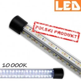 Lampa GLASS LED 10000K o mocy 24W AquaStel - tuba LED do akwarium w akwarium |sklep AQUA-LIGHT