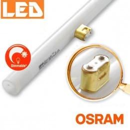 Ściemnialna żarówka liniowa LED LEDinestra 6W 2700K, trzonek S14d (1p), OSRAM, zamiennik żarówki LINESTRA - od AQUA-LIGHT