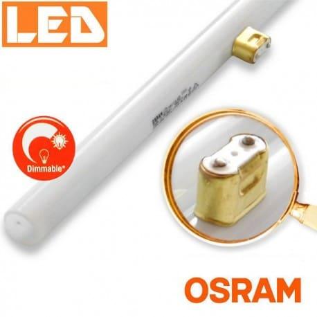 Ściemnialna żarówka liniowa LED LEDinestra 9W 2700K, trzonek S14d (1p), OSRAM, zamiennik żarówki LINESTRA |sklep AQUA-LIGHT.pl