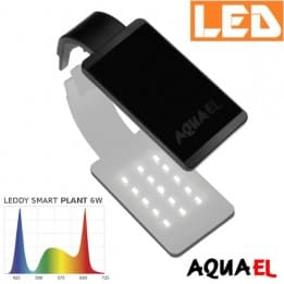 Lampka akwariowa LED LEDDY SMART 2 PLANT 6W 8000K AQUAEL czarna