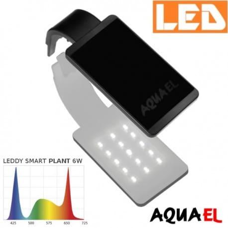 Lampka akwariowa LED LEDDY SMART 2 PLANT 6W 8000K AQUAEL, biała - na akwarium | sklep AQUA-LIGHT.pl