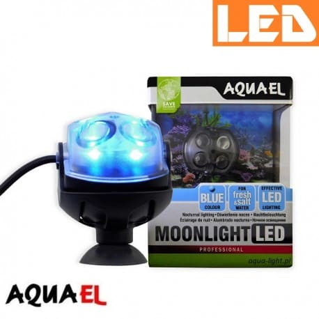 MOONLIGHT LED Aquael - oświetlenie nocne do akwarium| sklep AQUA-LIGHT.pl