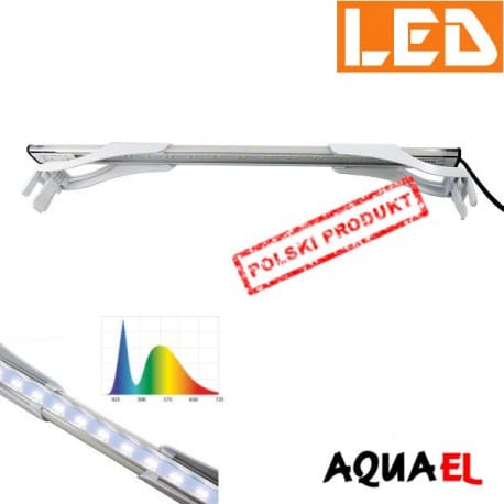 LEDDY SLIM Sunny 10W - 6500K AQUAEL biała | sklep AQUA-LIGHT.pl