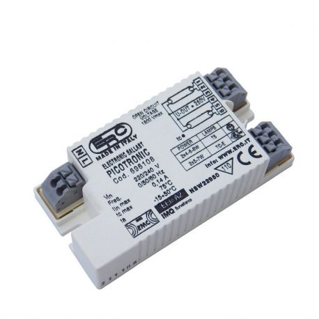 Statecznik elektroniczny PICOTRONIC do świetlówek T5 2x4-6-8W i 4-pin 2G7 5-7W | sklep AQUA-LIGHT.pl