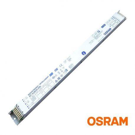 Statecznik elektroniczny QTI 2x28/54 DIM, ściemnialny |sklep AQUA-LIGHT.pl