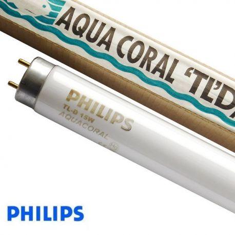 Świetlówka T8 Aquacoral TL-D 15W/03 Actinic Philips | sklep AQUA-LIGHT.pl