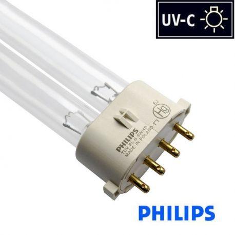 Promiennik UV-C Świetlówka UVC PL-S 9W trzonek 2G7, Philips   sklep AQUA-LIGHT.pl