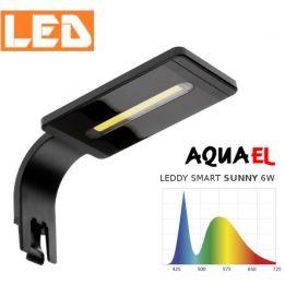 Lampka akwariowa LED LEDDY SMART SUNNY 6W 6500K AQUAEL, czarna