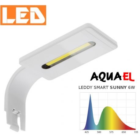 Lampka akwariowa LED LEDDY SMART SUNNY 6W 6500K AQUAEL, biała