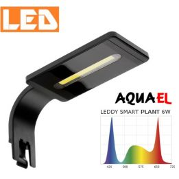 Lampka akwariowa LED LEDDY SMART PLANT 6W 8000K AQUAEL, czarna