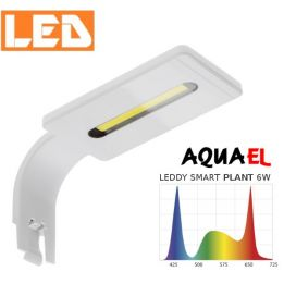 Lampka akwariowa LED LEDDY SMART PLANT 6W 8000K AQUAEL, biała