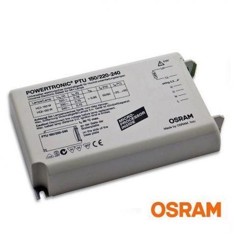 Statecznik elektroniczny POWERTRONIC PTU 150W OSRAM | sklep AQUA-LIGHT.pl