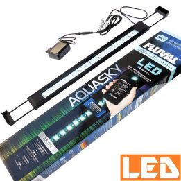 Lampa LED AQUASKY 16W Bluetooth 3000K-25000K FLUVAL czarna