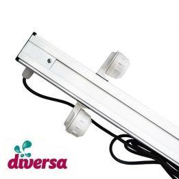 Belka oświetleniowa do akwarium, T5 2x24W 80cm, Diversa, oprawki hermetyczne | sklep AQUA-LIGHT.pl