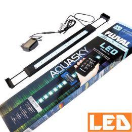 Lampa LED AQUASKY 12W Bluetooth 3000-25000K FLUVAL czarna | sklep AQUA-LIGHT.pl