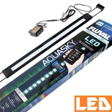 Lampa LED AQUASKY 25W Bluetooth 3000-25000K FLUVAL czarna | sklep AQUA-LIGHT.pl